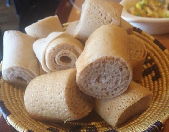 Injera – Ethiopian Food